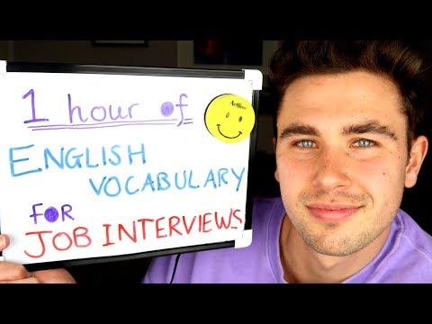 1 Hour of English Vocabulary for Job Interviews