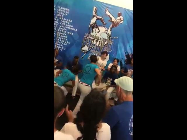 San Diego Capoeira Brasil Prof Pressinha Formanda Pavão e Prof Sarara