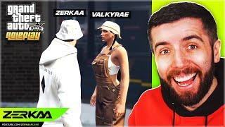 Zerkaa Meets Valkyrae In GTA 5 RP!