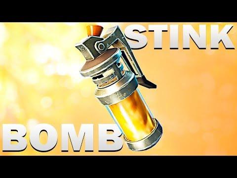 НОВА ГРАНАТА - STINK BOMB | Fortnite