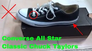 ✅  How To Use Converse All Star Classic Chuck Taylors Review