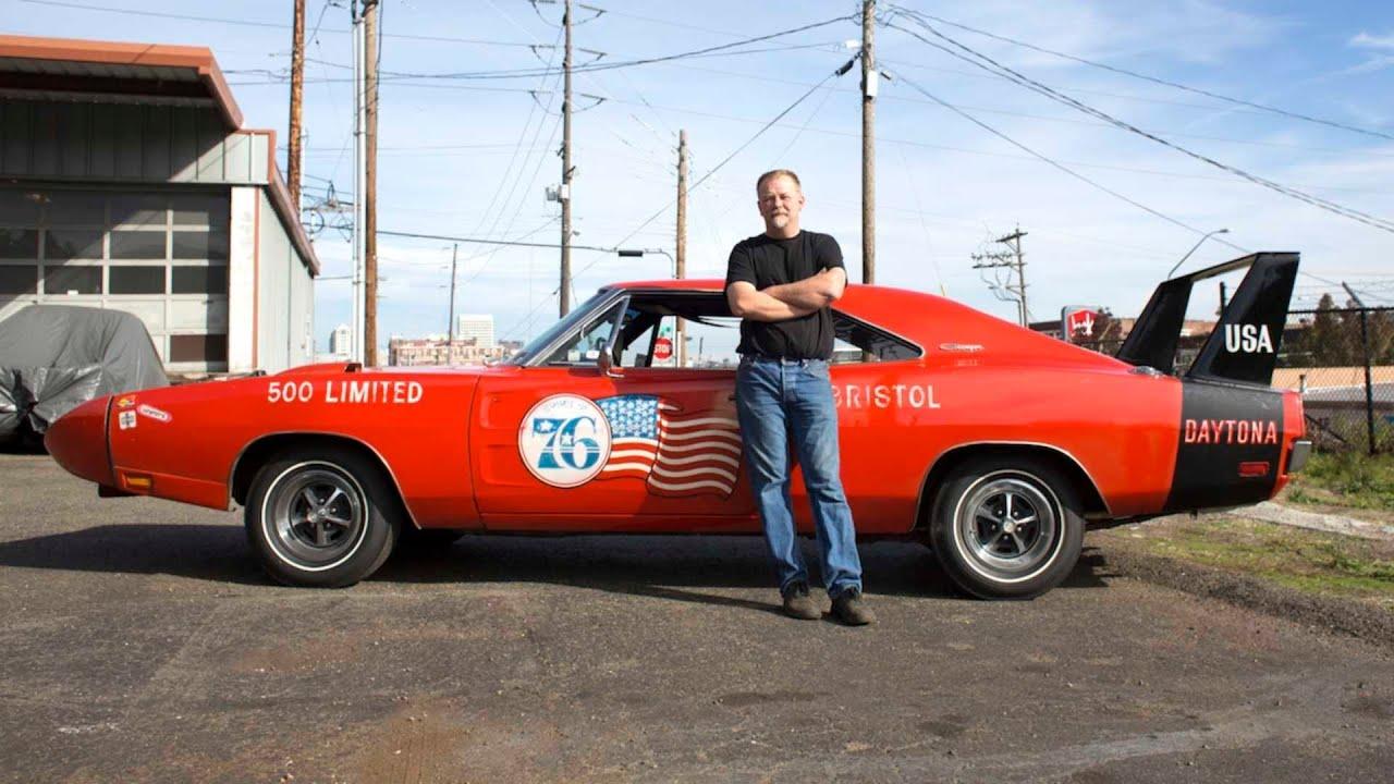 Rare '69 Dodge Charger Daytona Brought Back To Life - YouTube