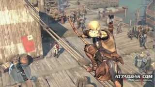 أساسن كريد ٣: بوسطن   Assassin's Creed III: Boston Gameplay