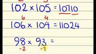 Thủ Thuật Tính Nhẩm - Mẹo Tính Nhẩm Phép Nhân (Speed Maths for fast calculation)