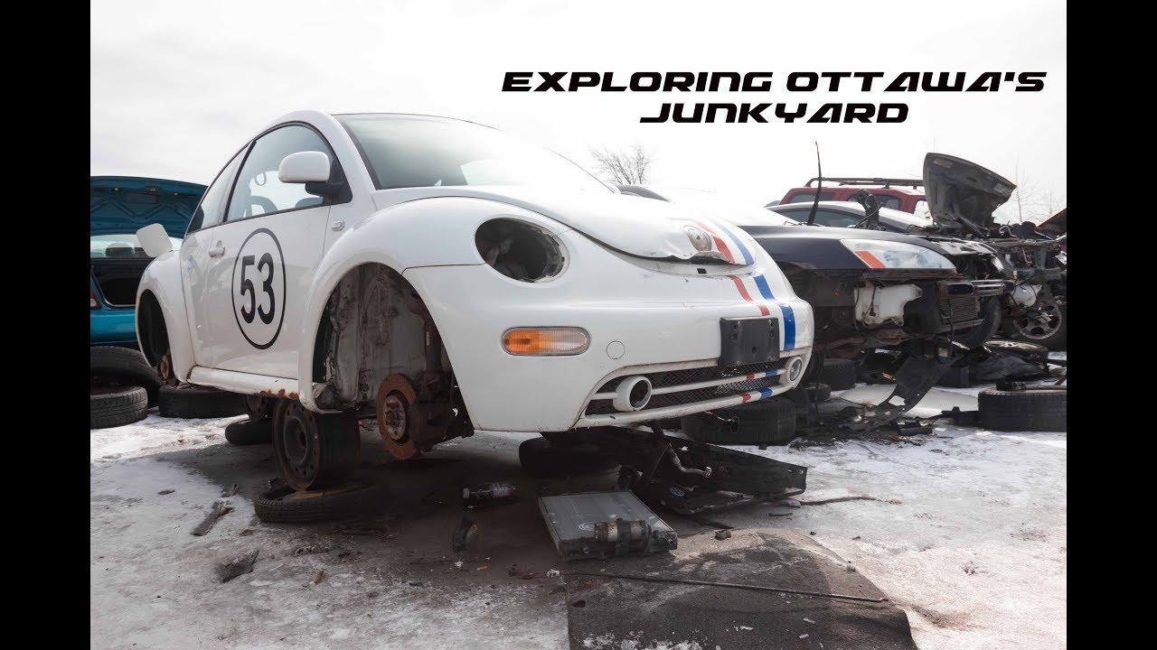 Exploring Ottawa's Junkyard
