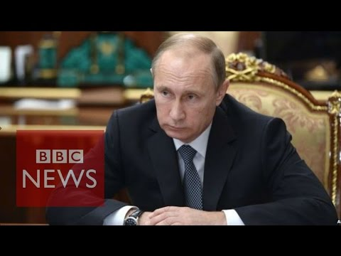 Putin Tops Forbes' Most Powerful People List - BBC News