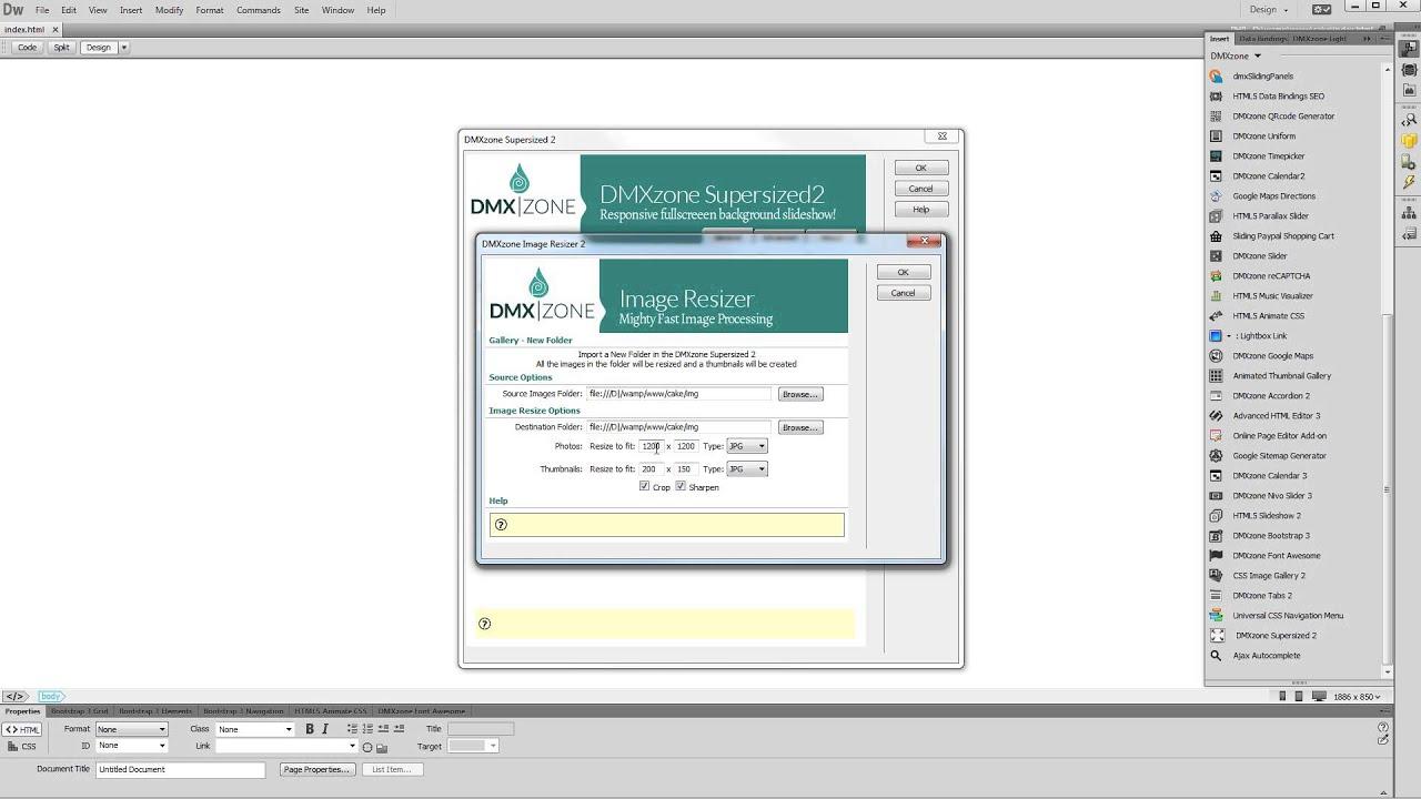 Full Screen Slideshow Html