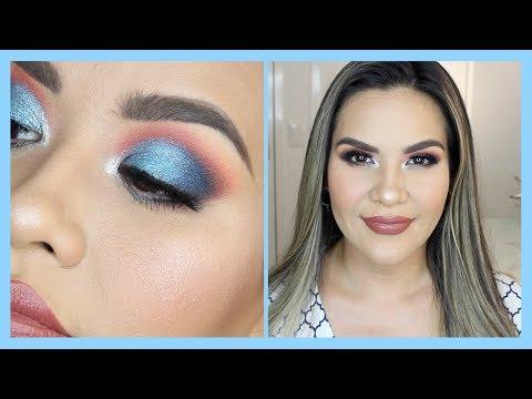 Maquillaje Azul con Menta Bajo Costo | Mytzi Cervantes
