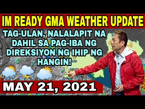 IM READY GMA WEATHER UPDATE TODAY LIVE | MANG TANI WEATHER REPORT TODAY | WEATHER FORECAST FOR TODAY