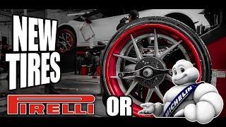 Michelin vs Pirelli - New Tires For The Huracan