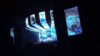 Ed Sheeran Montevideo estadío centenario Video