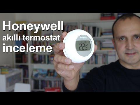 Honeywell Akıllı Termostat (Y87RFC2032) inceleme