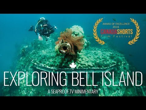 Promo VIdeos | Exploring Bell Island - Jill Heinerth / WWII wrecks / Mine diving / Explorer's paradise