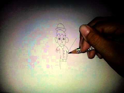 วาดรูปคน