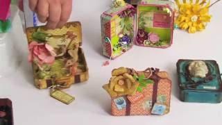 ScoreBoards Die DIY with Eileen Hull: Make a Cute Little Suitcase