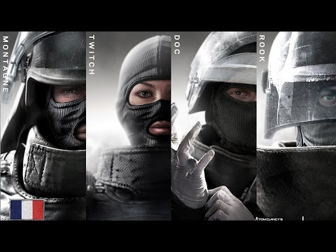 Rainbow Six Siege - GIGN Operator Unlock Videos HD thumbnail