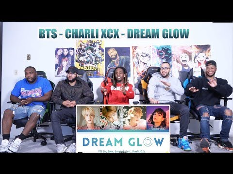 BTS - Dream Glow Feat Charli XCX Color Coded HanRomEng가사 Reaction