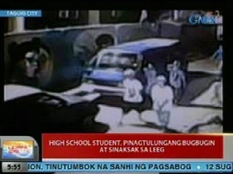 UB: High school student sa Taguig, pinagtulungang bugbugin at sinaksak sa leeg
