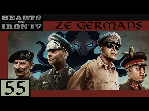 Swedish Navy Demolished - Let's Play Hearts of Iron IV (HoI4): Ze Germans #55 - Veteran Difficulty