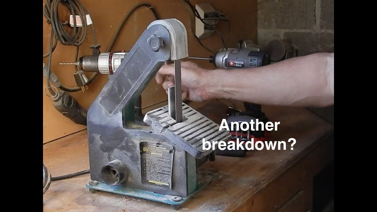 how to fix a sander with a broken switch [ 1280 x 720 Pixel ]