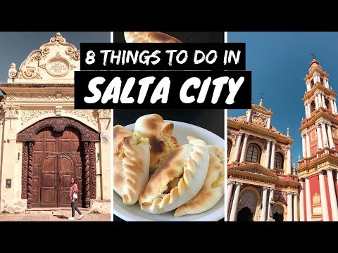 SALTA CITY TRAVEL GUIDE (ARGENTINA) | 8 AWESOME THINGS TO DO & SEE | SOUTH AMERICA TRAVEL VLOG