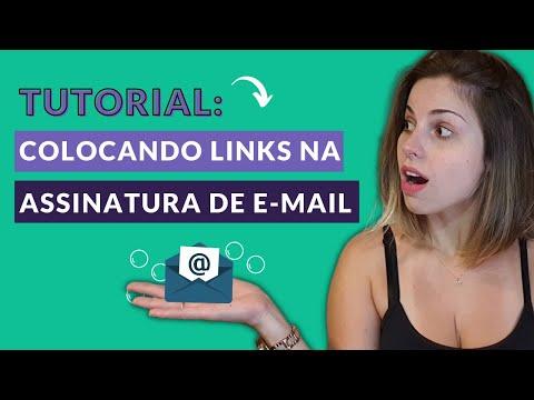 Como colocar link na assinatura de e-mail? - Adicione links de saída tanto em imagens quanto textos.