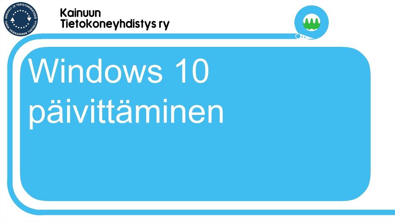 Windows Päivitys
