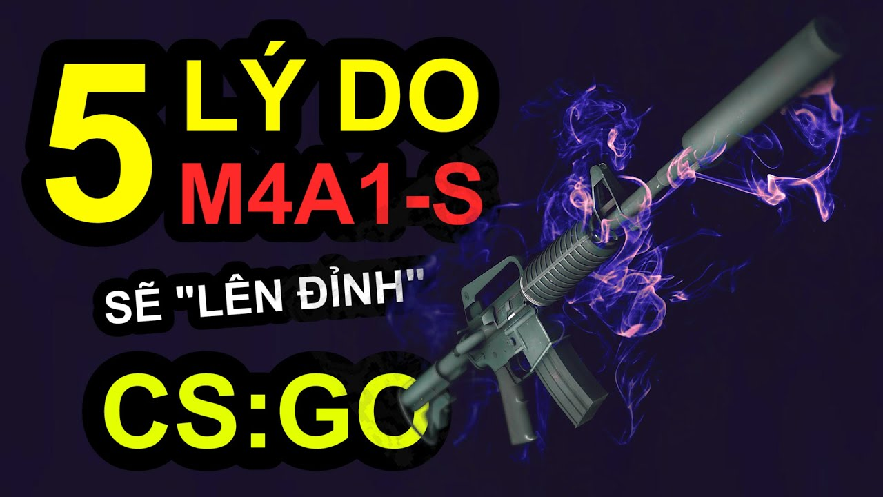 M4A1-S: THỜI TỚI CẢN KHÔNG KỊP! | CAFE CSGO