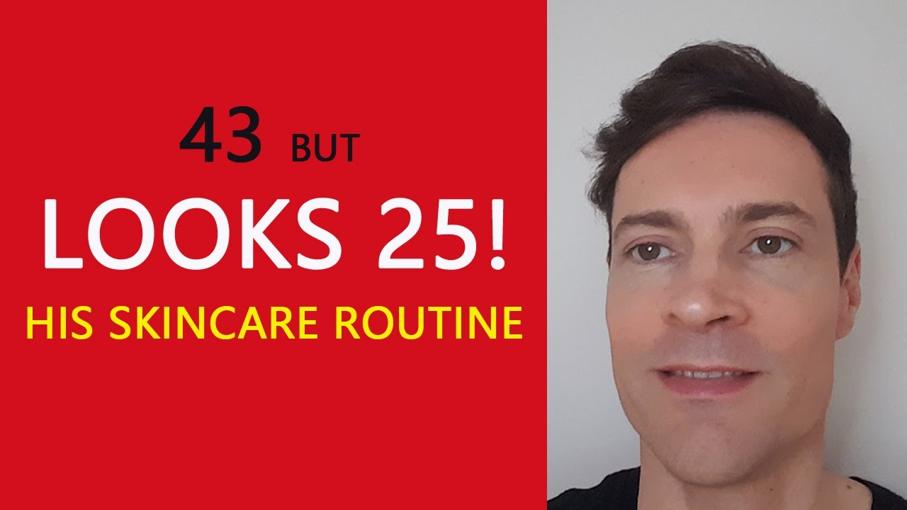 Anti-ageing skincare routine 2020. I'm over 40 but look younger.