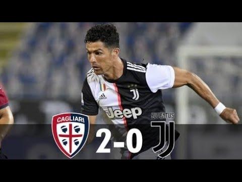 Cagliari Vs Juventus 2-0 Serie A 29/07/2020