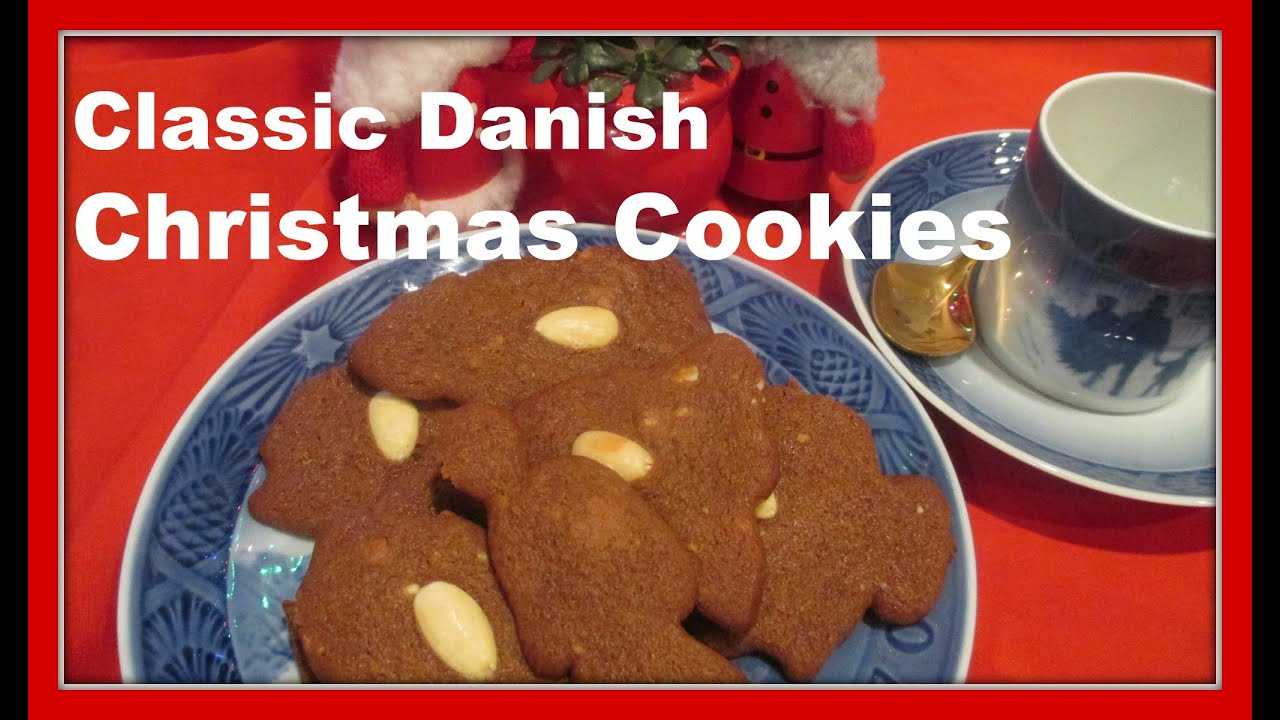How To Make Danish Brown Christmas Cookies Brune Kager Brunkager