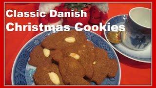 Brune Kager ( Brunkager ) - Danish Brown Christmas Cookies