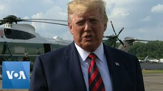 Trump Says U.S. Having