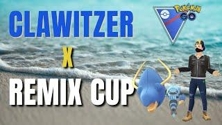*NEW* Clawitzer Enters The Remix Cup | Pokemon Go Battle League Great League Remix Battles screenshot 1