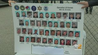 Dozens Arrested In Raid On MS-13 Gang