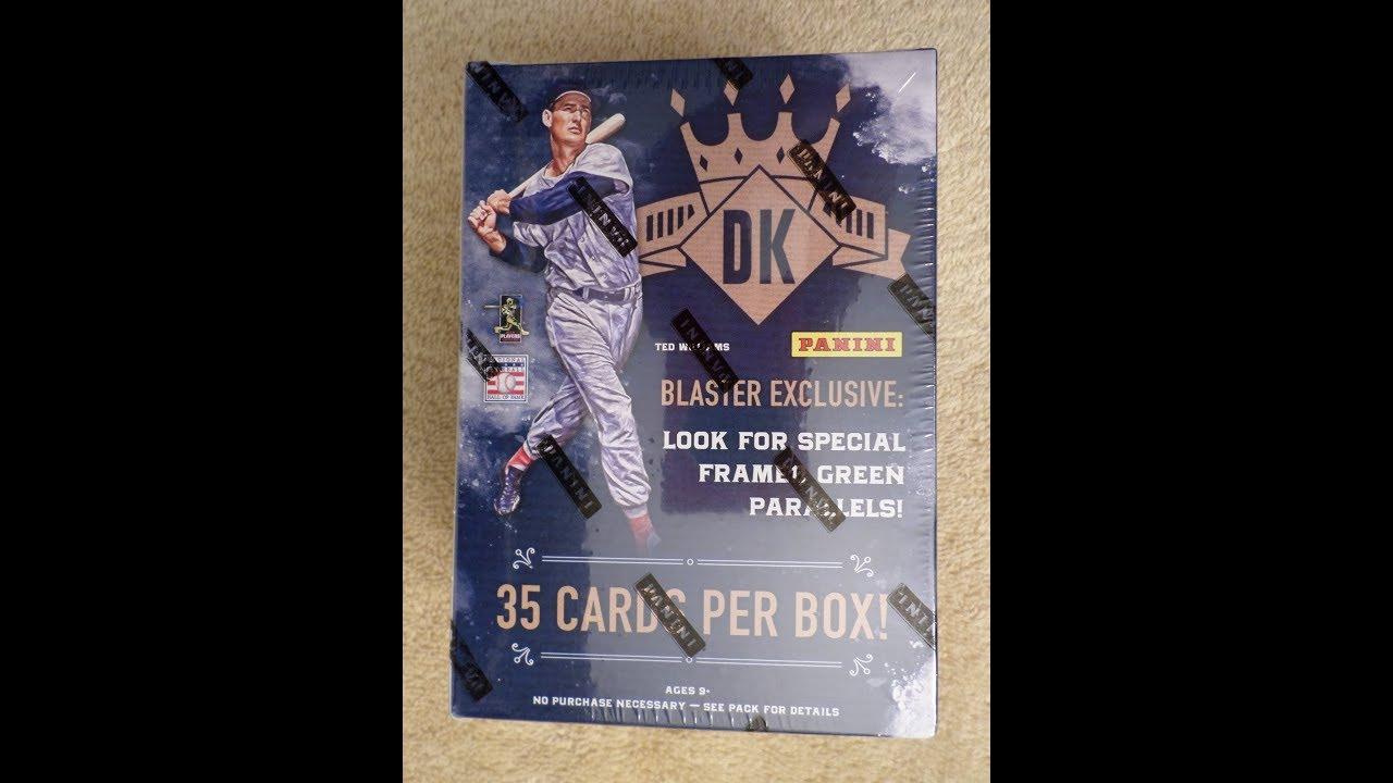 2017 Panini Diamond Kings Blaster Box Of Baseball Cards