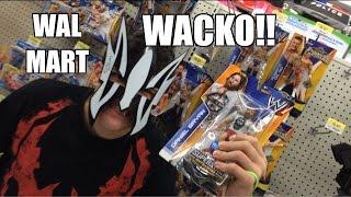 WWE ACTION INSIDER: Walmart WACKO! Daniel Bryan Exclusive Mattel Wrestling Figure! Store Review!