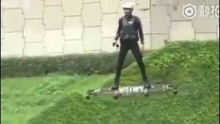 New Technology - Drone carrying human.