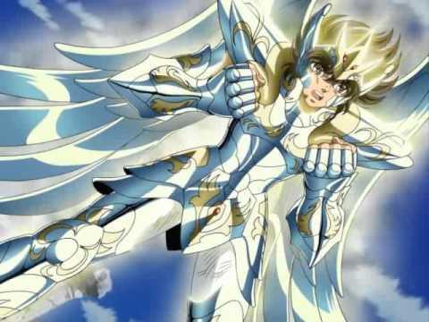 seiya viste armadura celestial