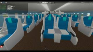 ROBLOX Korean air New Boeing787-9 Join group!