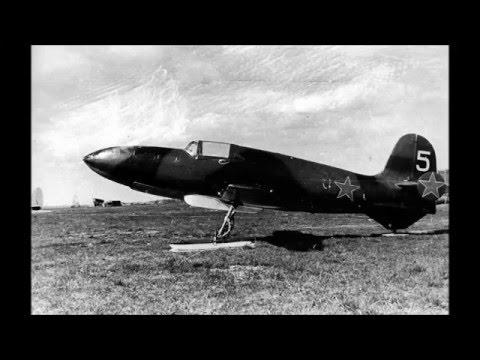 Early Russian Jet Aircraft 1930 to 1945 Including World War II - Раннего российский самолет