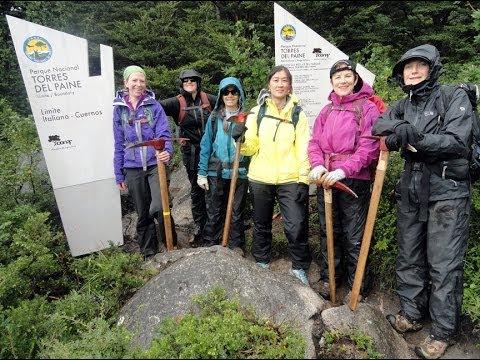 Conservation Volunteers International Program restores trails in Patagonia