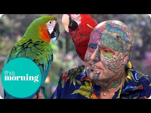 Extreme Surgery To Look My Parrots – Ted Parrotman Richards | This Morning