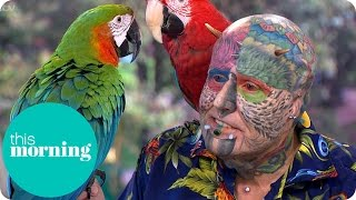 Extreme Surgery To Look Like My Parrots - Ted Parrotman Richards | This Morning