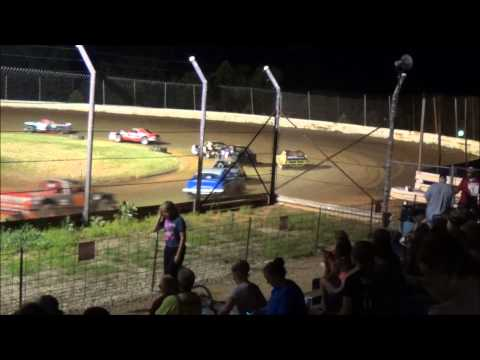 Doe Run Raceway Mini Stock Feature 6-26-15