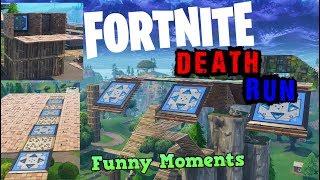 FORTNITE DEATHRUN BATTLE ROYALE CUSTOM MINI GAME! (LTM CONCEPT IDEA) Playgrounds Funny Moments