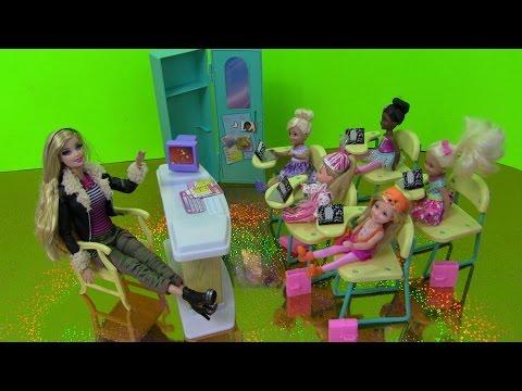 Cuộc Sống Búp Bê Barbie & Ken ( Tập 10) Barbie Làm Cô Giáo Barbie Teacher