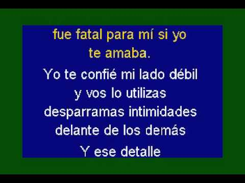 "La Mississipi  ""El detalle"" DEMO PISTA KARAOKE INSTRUMENTAL"