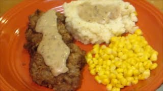 Country Fried Steak By The Wolfe Pit