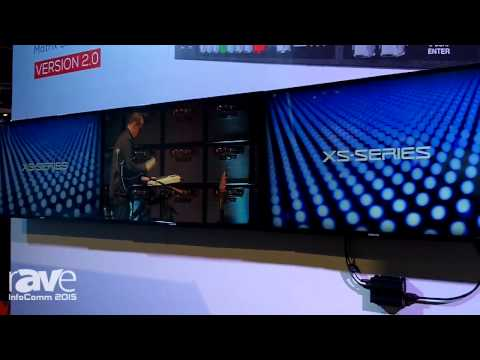 InfoComm 2015: Roland Exhibits XS-Series Multi-Format Matrix Switcher 2.0